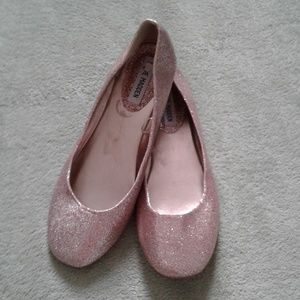 Steve Madden sparkly flats, 8.5